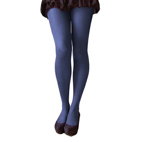 『摩達客』英國進口【Pretty Polly】40D丹尼彩色彈性褲襪(深藍黑色)(兩入組)