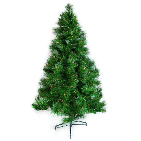 台灣製 8呎/ 8尺(240cm)特級綠松針葉聖誕樹裸樹 (不含飾品)(不含燈)YS-NPT08001