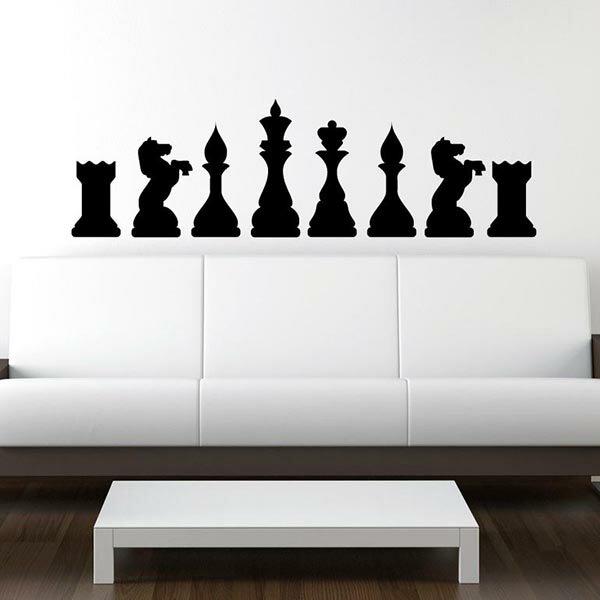 『摩達客』法國Ambiance 西洋棋 家飾設計壁貼