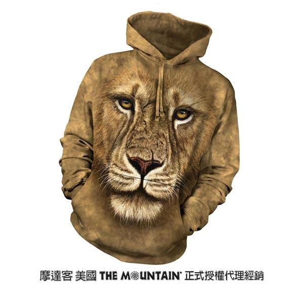 『摩達客』(預購)美國進口【The Mountain】獅勇士 長袖連帽T恤