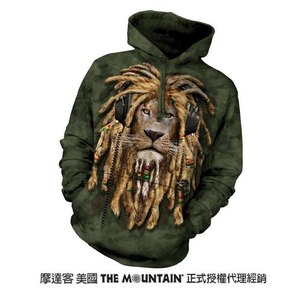 『摩達客』(預購)美國進口【The Mountain】DJ加滿獅 長袖連帽T恤
