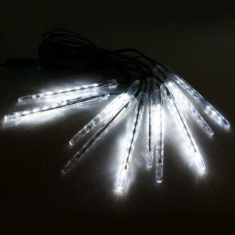 『冬季生活限定』LED流星燈串(10燈)(白光)