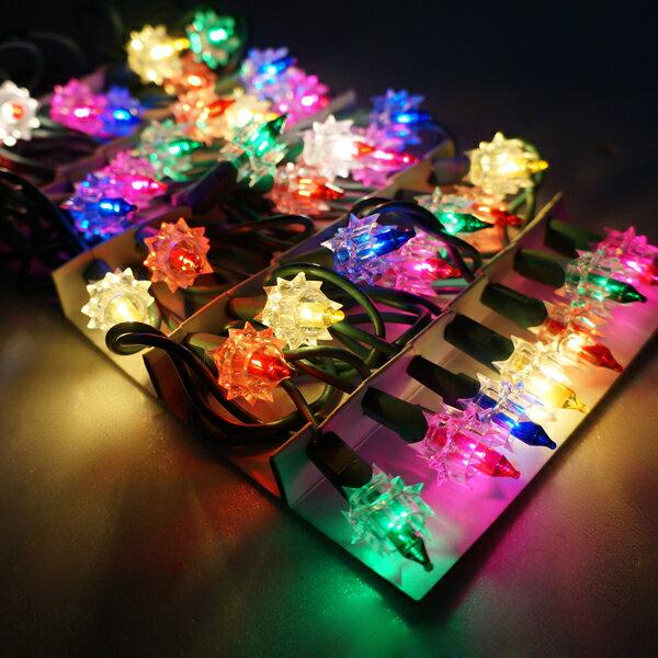 聖誕燈-鑽石燈串 (35燈)(鎢絲燈)(可搭聖誕樹)YS-XDTL035001