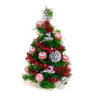 幫家裡聖誕佈置裝飾推薦聖誕樹及聖誕花圈到台灣製迷你1呎/1尺(30cm)裝飾聖誕樹(銀松果糖果球色系)(本島免運費)YS-GT10003 聖誕佈置裝飾推薦就在摩達客推薦幫家裡聖誕佈置裝飾