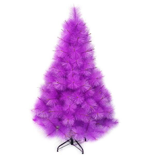 台灣製4尺/4呎(120cm)特級紫色松針葉聖誕樹裸樹 (不含飾品)(不含燈)YS-NPPT04004