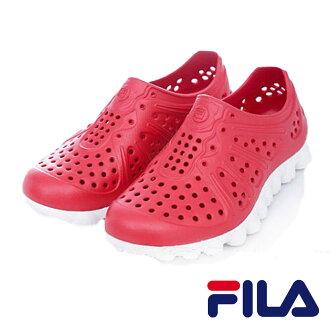 FILA 男款 超透氣 明星休閒鞋系列- 紅色 S920M-212