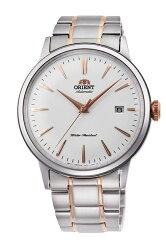 【時光鐘錶】ORIENT 東方錶 經典DATEⅡ復古機械錶 男錶 (RA-AC0004S) 雙色/40.5mm