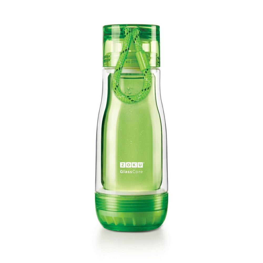 ZOKU | 繽紛玻璃雙層隨身瓶355ml (5色可選)