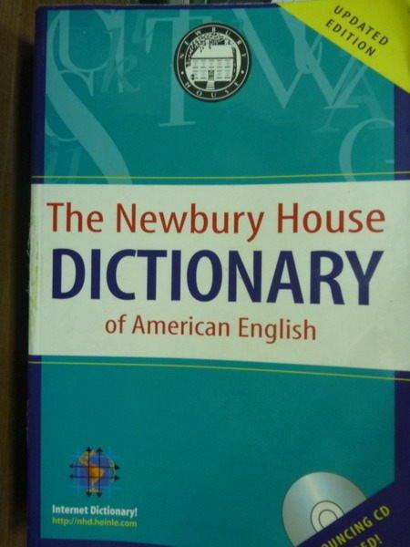 【書寶二手書T6/字典_PFE】The Newbury House Dictionary