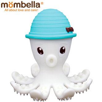 飛炫寶寶【英國Mombella】樂咬咬章魚固齒器藍色