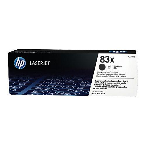 【HP】CF283X 原廠黑色碳粉匣高容量83X
