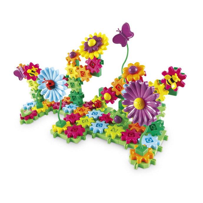 【華森葳兒童教玩具】建構積木系列-花園齒輪組 N1-9214-D