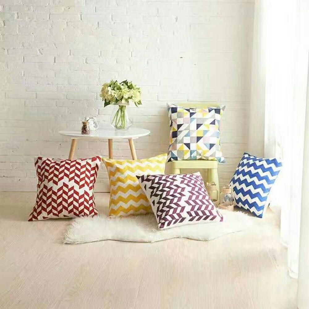 ✤宜家✤時尚簡約實用抱枕79 靠墊 沙發裝飾靠枕