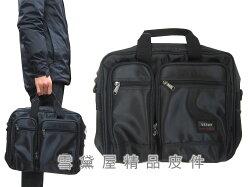 ~雪黛屋~YESON 公事包小容量二層主袋可A4資料夾高單數防水尼龍布底部加大容量提肩背斜側台灣製造品質保證Y58306
