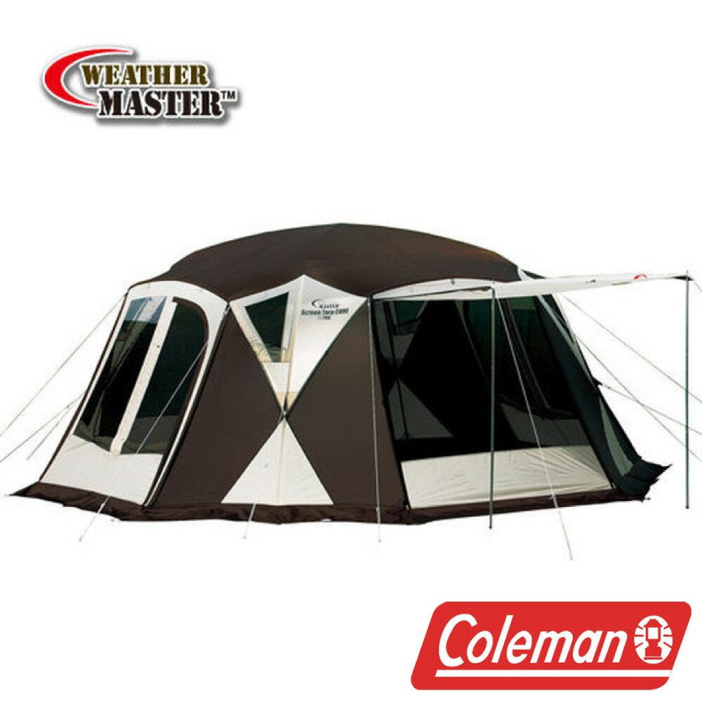 【美國Coleman】氣候達人核心網屋(大巨蛋限量款) 客廳帳篷 炊事帳棚 可連結帳蓬 露營 CM-1625JM