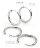 日本CREAM DOT  /  ピアス ステンレス製 低アレルギー フープピアス レディース 大人 上品 エレガント 華奢 シンプル フェミニン ゴールド シルバー ピンクゴールド  /  a03400  /  日本必買 日本樂天直送(1590) 3
