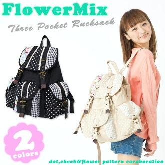 【日本品牌-SAYA Collection】拼布造型束口後背包