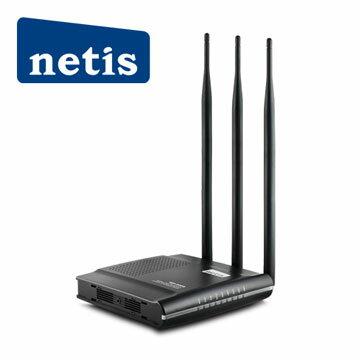 【迪特軍3C】netis WF2409D 9dbi 黑極光無線分享器300MB 美商晶片 支援802.11n 適用跨樓層 - 限時優惠好康折扣