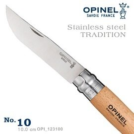 [OPINEL]不鏽鋼折刀10櫸木柄法國刀公司貨123100