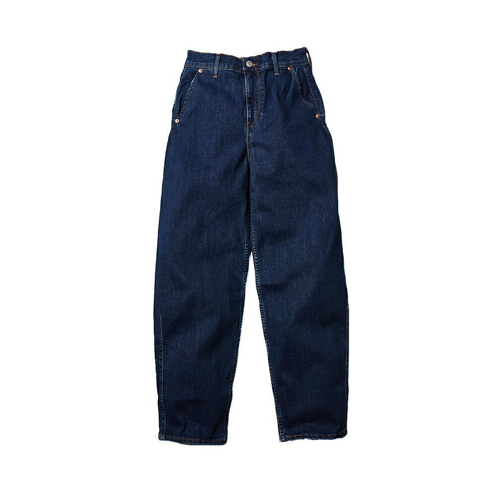 Levis 女款 Balloon 高腰合身氣球版丹寧牛仔寬褲  /  LEJ energy 3D褲  /  Orta歐洲丹寧  /  及踝款 1