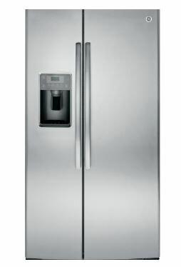 【得意家电】美国 GE 奇异 GSE25HSSS 对开门冰箱(733L) ※热线07-7428010