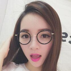 ★眼鏡框圓框眼鏡鏡架-文藝氣質復古時尚男女平光眼鏡5色73oe71【獨家進口】【米蘭精品】