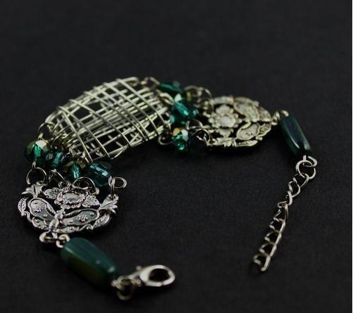 飾品 新品 波西米亞 鏤空寬邊 手工手鏈 女式手鐲特價