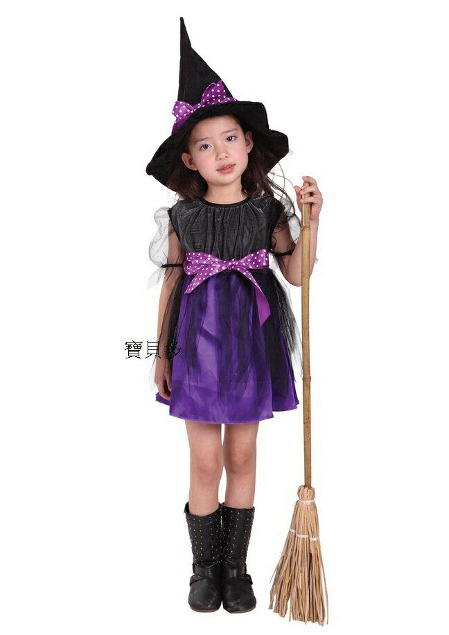 東區派對-  萬聖節服裝,萬聖節服飾,變裝派對,巫婆裝/魔女服裝/俏麗網紗巫婆裝