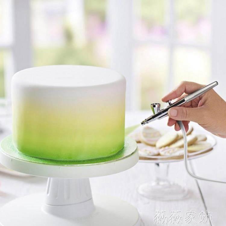 噴槍 面大師白色無級變速液體色素空氣噴槍翻糖蛋糕上色機airbrush