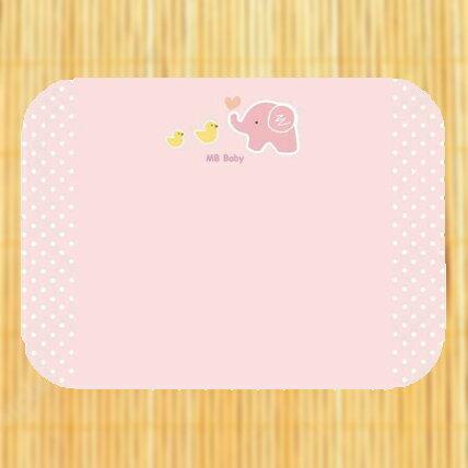 MBBABY萌寶寶天然乳膠(附內裡)塑型枕-粉色【悅兒園婦幼生活館】