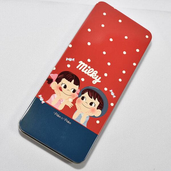 不二家牛奶妹Milky鐵筆盒日本正版品