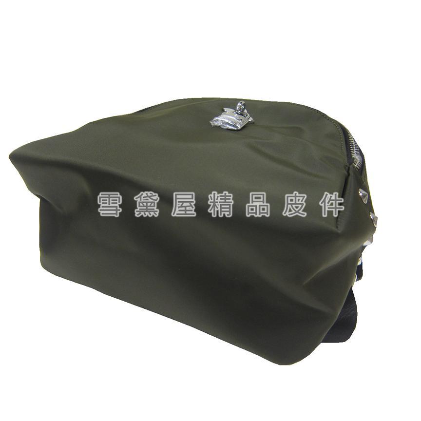 限時 滿3千賺10%點數↘ | ~雪黛屋~COUNT 後背包超小型容量進口防水尼龍布+皮革材質二層主袋休閒隨身品BCD50002401160