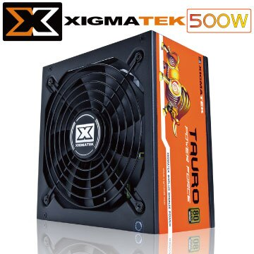Xigmatek 金牛座 Tauro 500W 80+ 銅牌 電源供應器