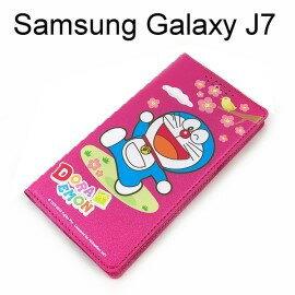 哆啦A夢皮套 [櫻花] Samsung J700F Galaxy J7 小叮噹【台灣正版授權】