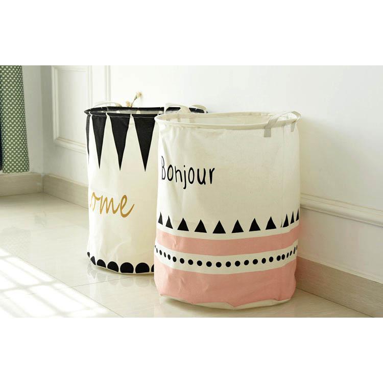 收納筒 超大收納洗衣籃 玩具雜貨收納  40*50【ZA0698】 BOBI  09/14 2