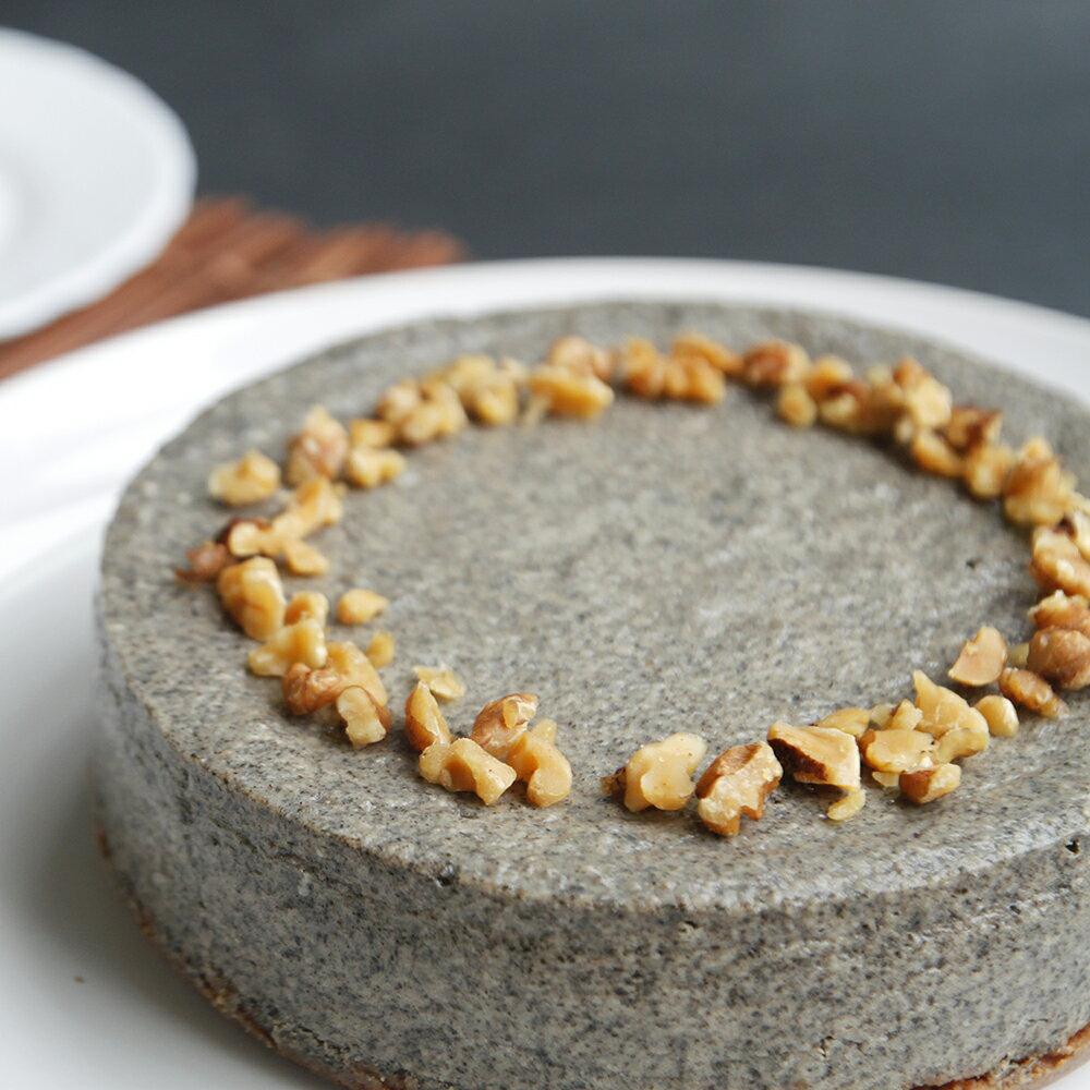 【透明烤箱】芝麻重乳酪蛋糕(6吋)蛋糕 乳酪蛋糕 甜點 下午茶 點心
