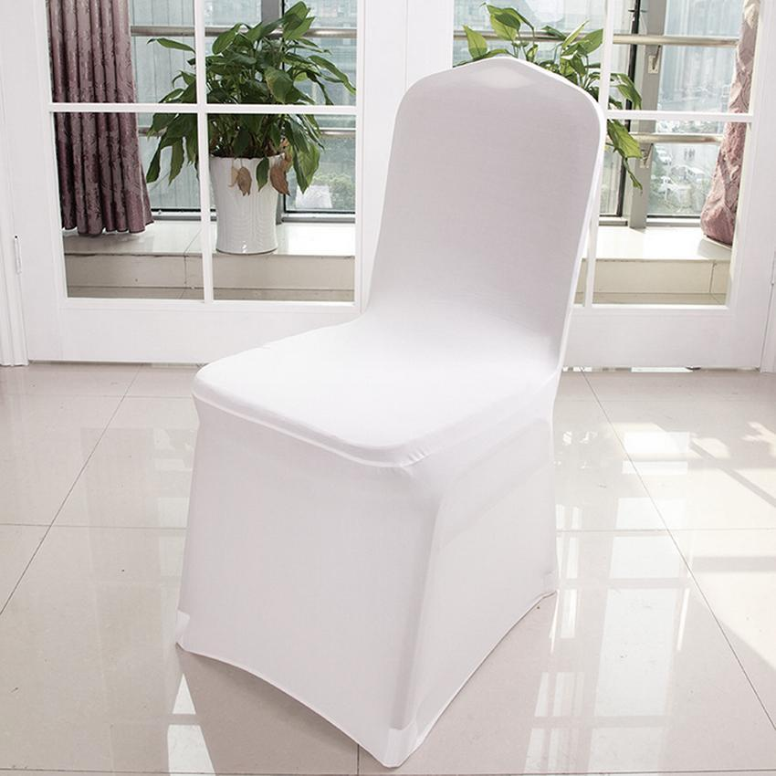 Spandex Chair Covers for Wedding Supply Party Banquet Decoration 2