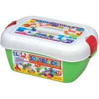 積木玩具推薦到Toyroyal 樂雅 拼插軟積木箱-72PCS(3642)★衛立兒生活館★就在衛立兒生活館推薦積木玩具