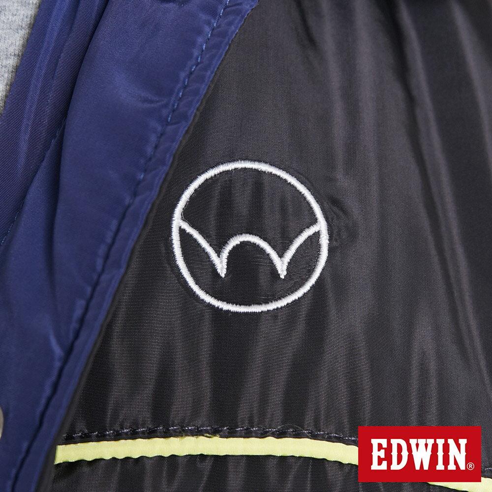 EDWIN 雙面穿極簡線條 鋪棉外套-男款 黑灰色【雙12 SUPER SALE 限定折扣】【天天消費滿1200→12 / 9憑券序號12S120H再折120元】 6