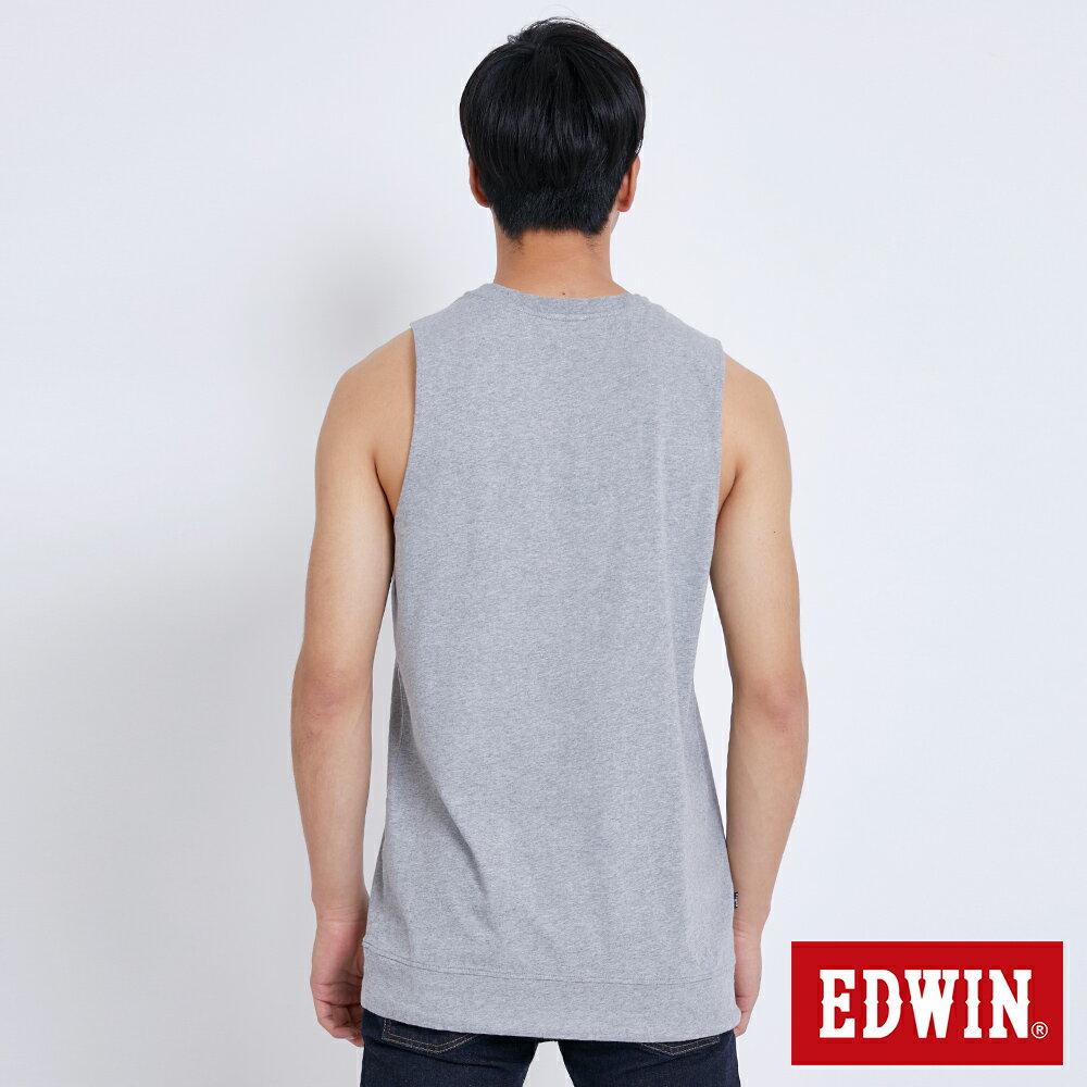 EDWIN 層次兩件式E字 厚長袖T恤-男款 黑色 BAUHAUS 包浩斯 4