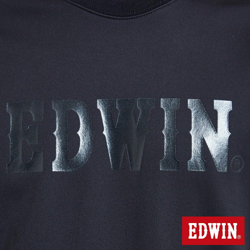 EDWIN 輕量防水 刷毛厚長袖T恤-男款 黑色 X SPORTS 運動風【天天消費滿1200→12 / 9憑券序號12S120H再折120元】 6
