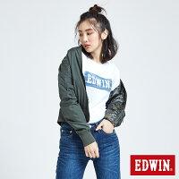 風衣外套推薦到EDWIN 雙面迷彩 MA-1風衣外套-女款 橄欖綠就在EDWIN推薦風衣外套