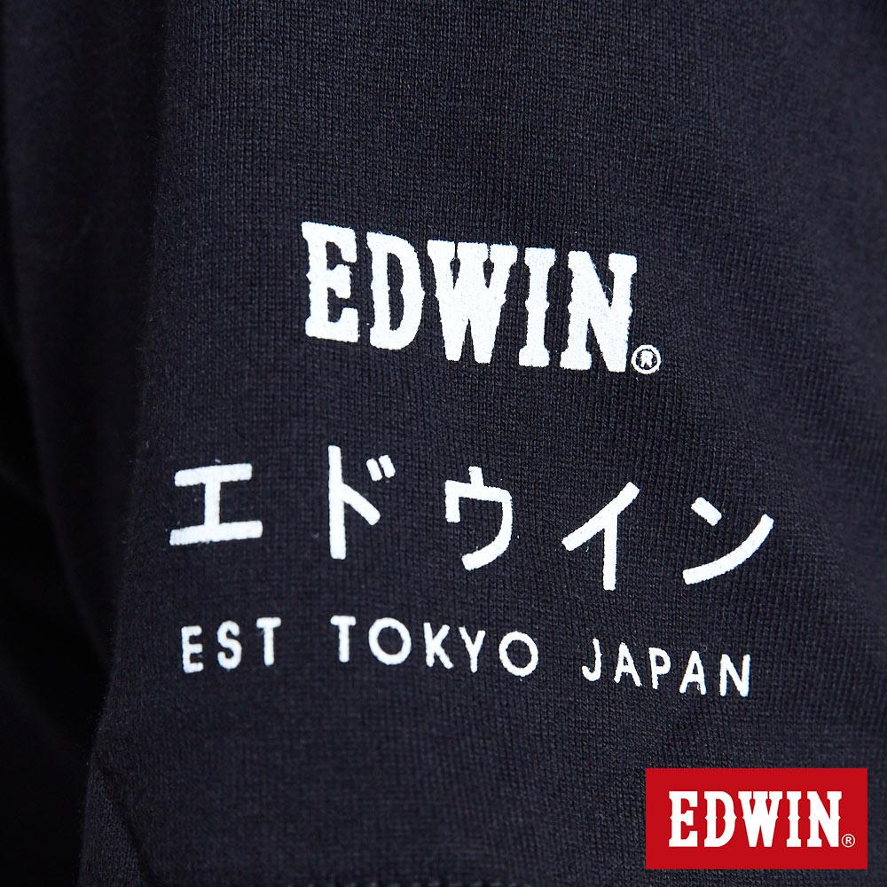 EDWIN BASIC 素面口袋 短袖T恤-男款 黑色 東京系列   APP結帳限定折扣  單件憑序號 GT-MEN1906 單筆799再折70元 [限用一次] 6