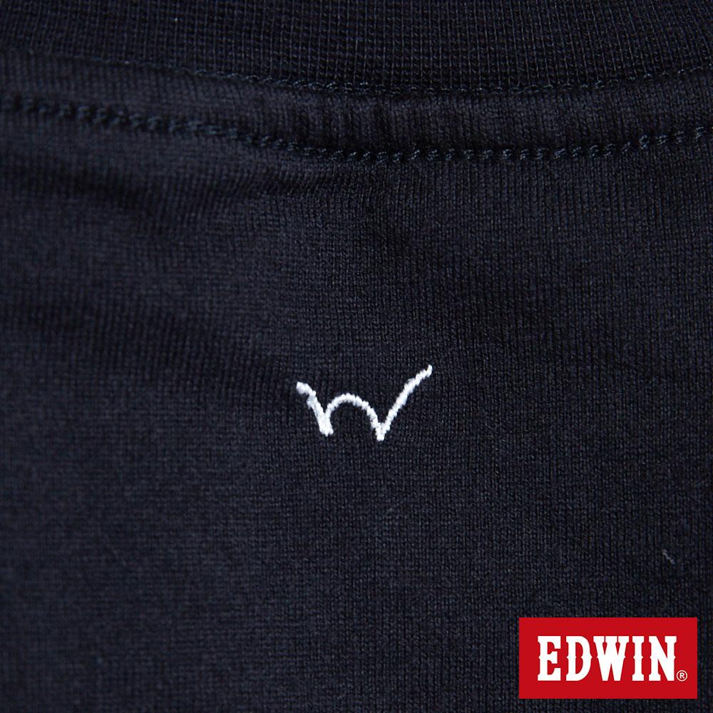 EDWIN BASIC 素面口袋 短袖T恤-男款 黑色 東京系列   APP結帳限定折扣  單件憑序號 GT-MEN1906 單筆799再折70元 [限用一次] 7