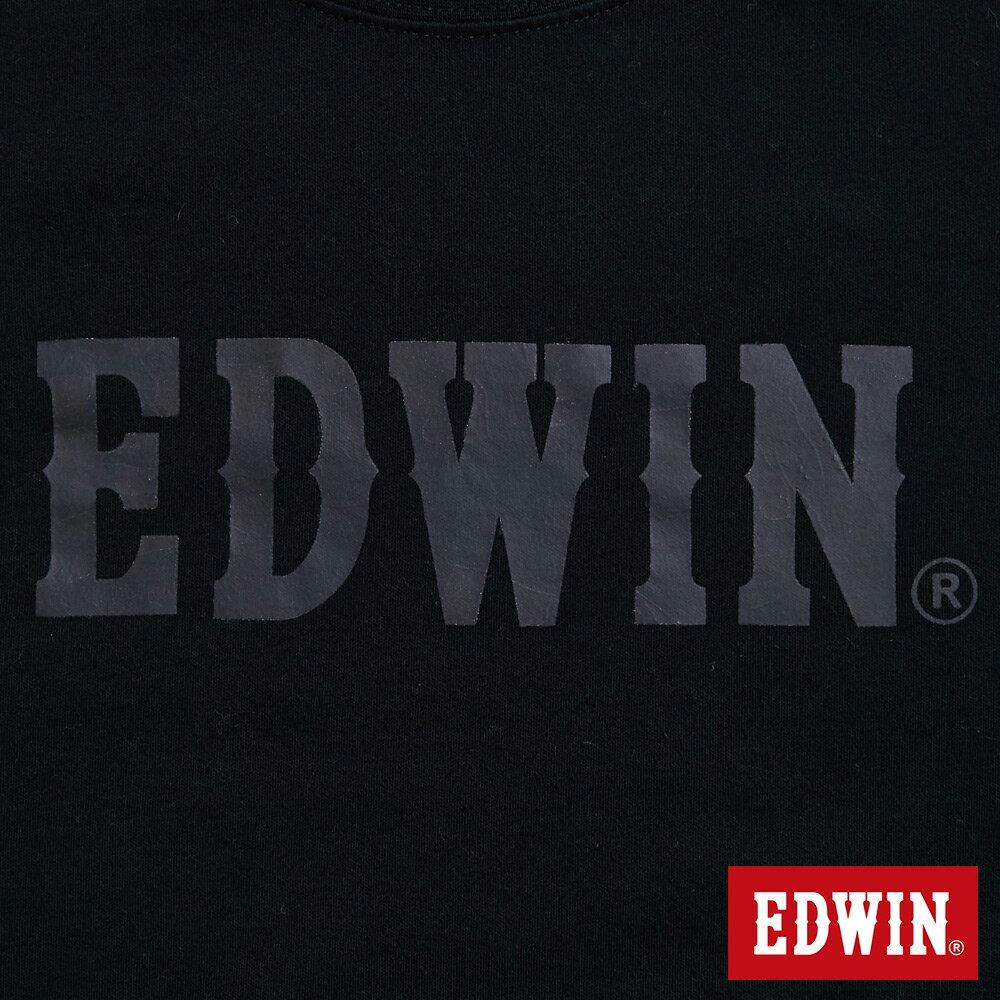 新品↘EDWIN EFS溫變迷彩LOGO 短袖T恤-男款 黑色 6