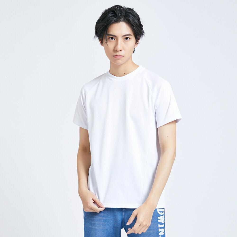 【領券滿1,200再折120】EDWIN EFS 迷彩涼感短袖T恤-男款 白色