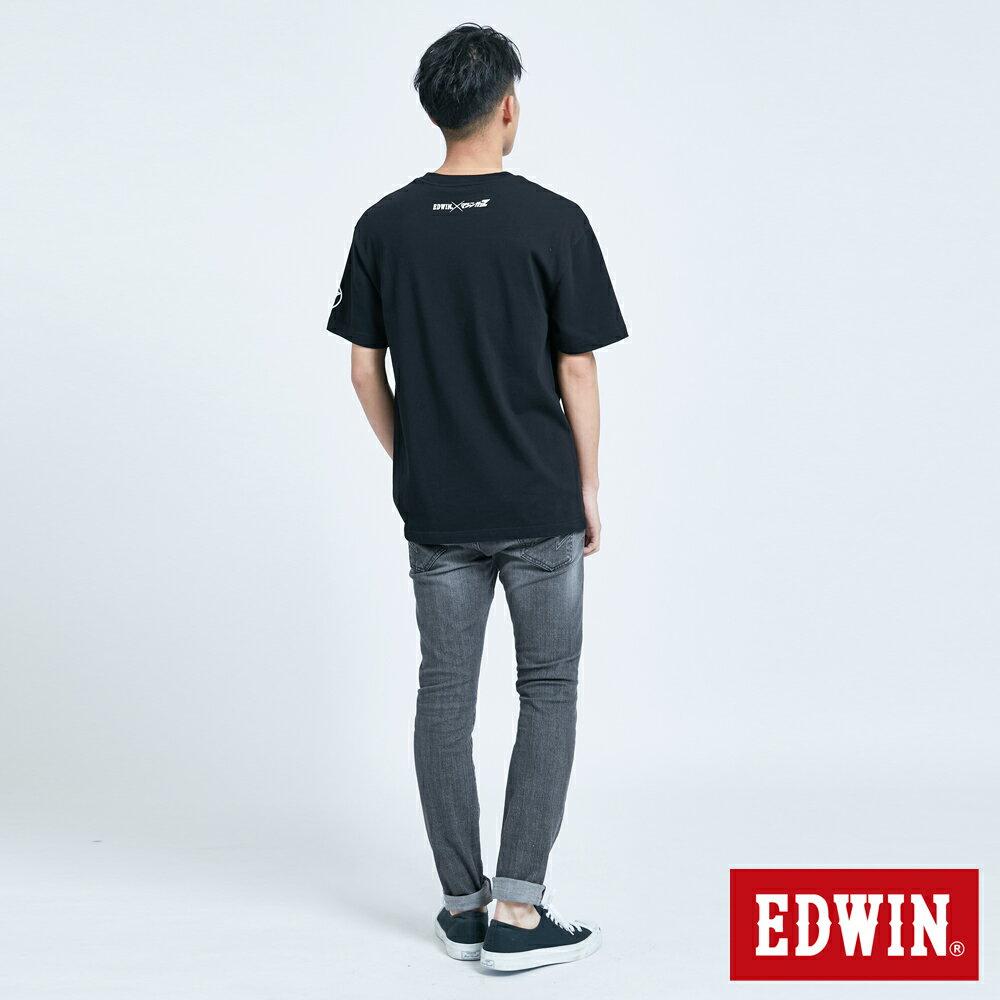 【APP領券9折】EDWIN X 無敵鐵金剛 MZ大鐵金剛 短袖T恤-男款 黑色 5