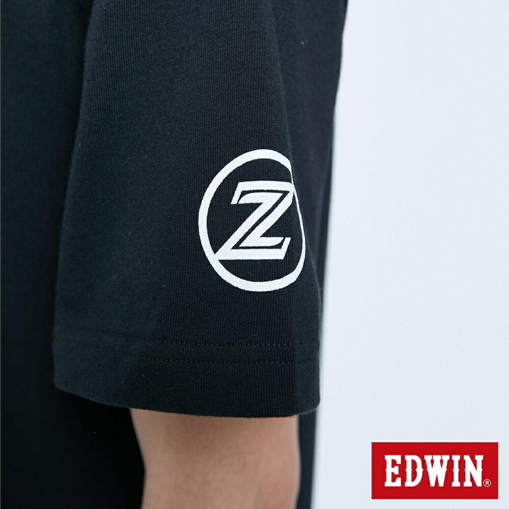 【APP領券9折】EDWIN X 無敵鐵金剛 MZ大鐵金剛 短袖T恤-男款 黑色 8