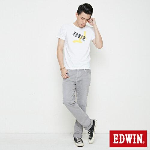 EDWIN 街頭塗鴉LOGO 短袖T恤-男款 白色 3