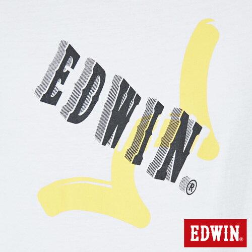 【SOY感謝慶。2件839元↘】EDWIN 街頭塗鴉LOGO 短袖T恤-男款 白色【6/26-7/3 AM09:59】【點數加碼10+10倍↘】 4